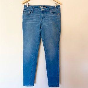 Old Navy Rockstar Skinny Jeans- Med- Light wash